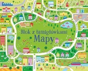 Mapy. Blok z łamigłówkami Sam Smith