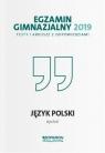 Egzamin gimnazjalny 2019 Testy i arkusze z odpowiedziami Język polski