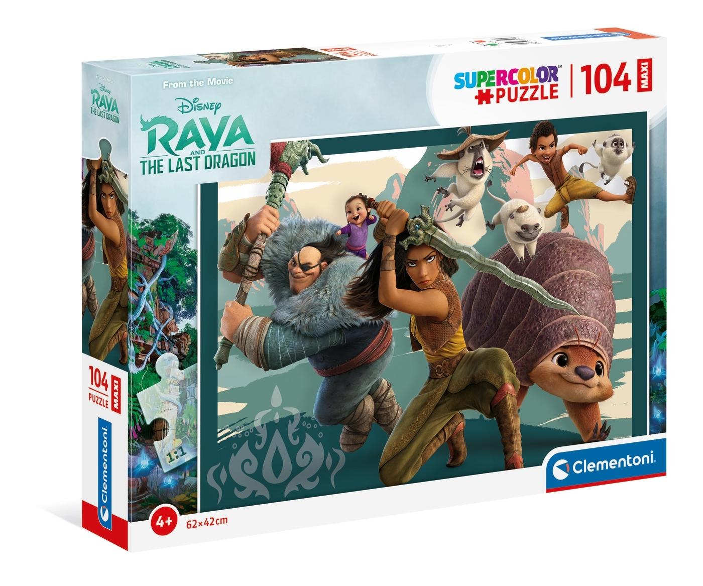 Puzzle Maxi SuperColor 104: Raya and The Last Dragon (23750)