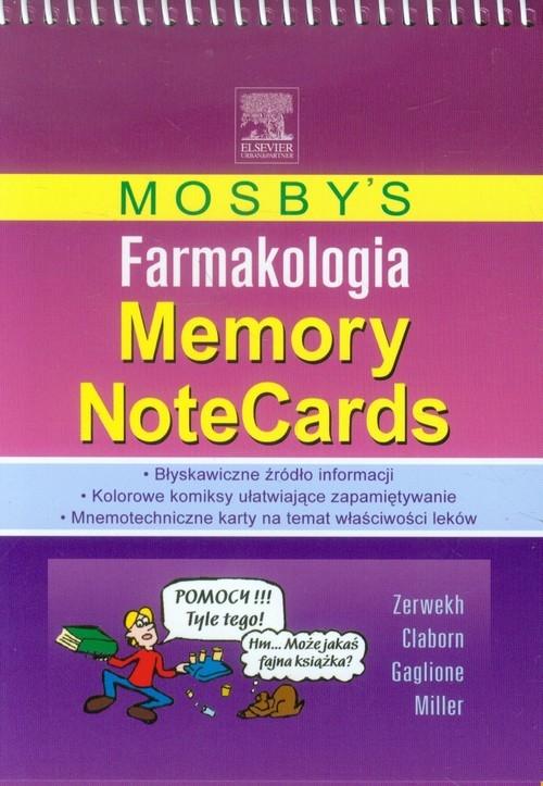 Mosby's Farmakologia Memory NoteCards Zerwekh JoAnn, Claborn Jo Carol, Gaglione Tom