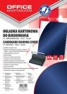Okładki do bindowania Office Products A4 kartonowa błyszcząca 100 sztuk