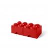 LEGO, Szuflada klocek Brick 8 - Czerwone (40061730)