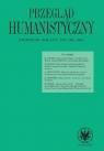 Przegląd Humanistyczny 1/2020