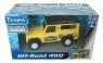 Teama Jeep 4WD skala 1:32 żółty