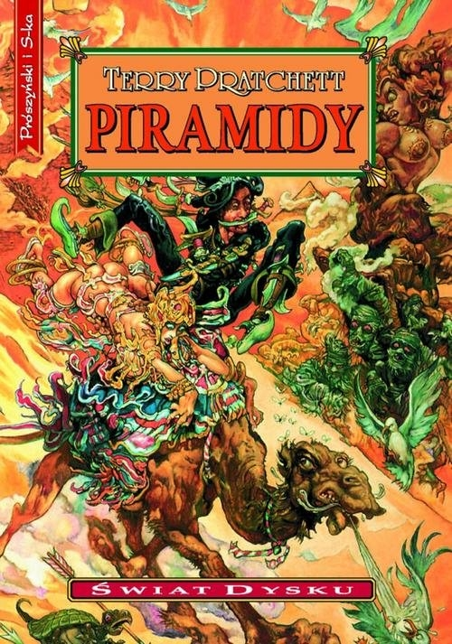Piramidy Pratchett Terry
