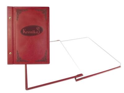 Kronika Warta - bordowy 100 k. 25,5 x 34,5 cm (319-039)