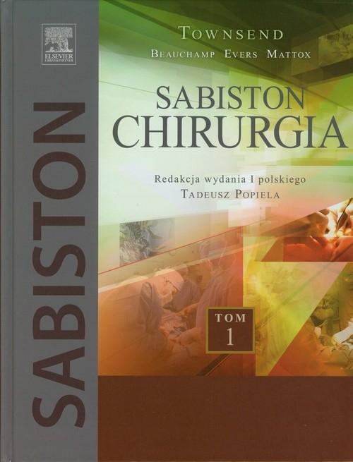 Chirurgia Sabistona Tom 1 Townsend Courtney M.