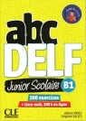 ABC DELF B1 junior scolaire książka + DVD + zawartość online 2ed Payet Adrien, Salles Virginie