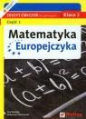 Matematyka Europejczyka 2 zeszyt ćwiczeń część 1