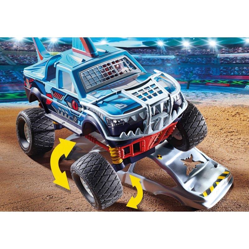 Playmobil Stuntshow: Pokaz kaskaderski, Monster Truck Rekin (70550)