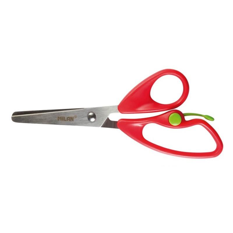 Nożyczki szkolne MILAN RETURN z amortyzatorem 1 szt. na blistrze (BWM10019)