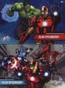 Blok rysunkowy A4 Avengers Assemble 20 kartek 10 sztuk mix