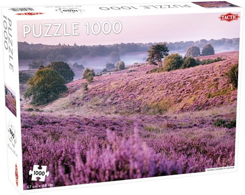 Puzzle 1000: Wrzosowisko (Moors Covered in Heather)