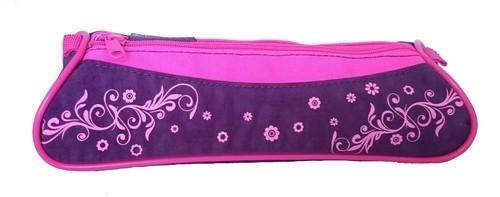 Piórnik saszetka Voguish Collecion różowo-fioletowy