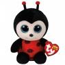 Maskotka Beanie Boos Izzy - biedronka 15 cm (TY 36850)