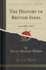 The History of British India, Vol. 2