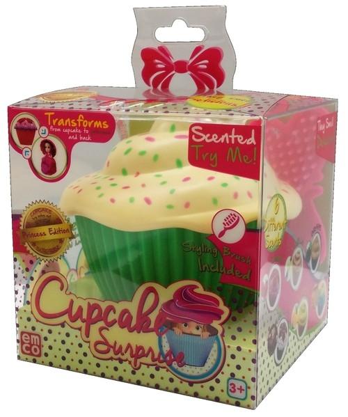Cupcake Babeczka z niespodzianką Debby zielona