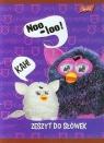 Zeszyt do słówek Furby w kratkę 16 stron