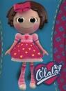 Teczka z gumką A4 Olala lala z kokardą