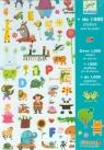 Zestaw naklejek ze zwierzątkami 1000 elementów (DJ08950)