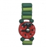 Zegarek Księżniczki zielona biedronka