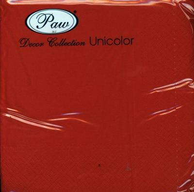 Serwetki Unicolor 33x33 SDL110503 /chili red/