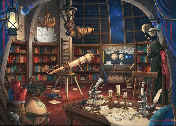 Puzzle 759: EXIT - Obserwatorium gwiezdne (199501)