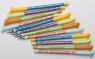 Długopis usuwalny pieski 0,5mm niebieski op.48szt (HA AKPB3171-P48)