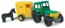 Traktor z przyczepą na konia  (35020)