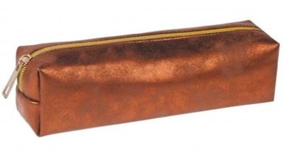 Piórnik tuba Golden brąz