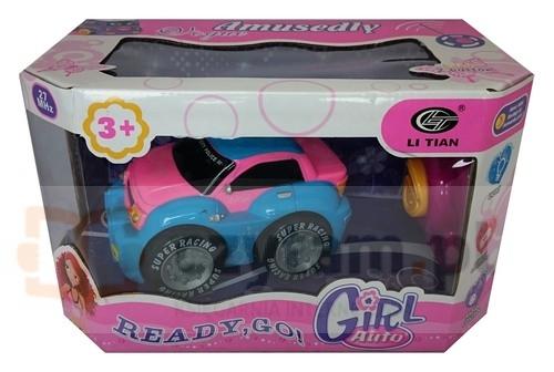 Samochód Terenowy Girl Auto RC różowy