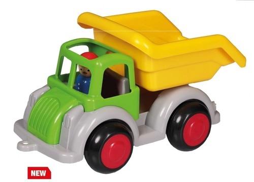Pojazd wywrotka Jumbo z figurką