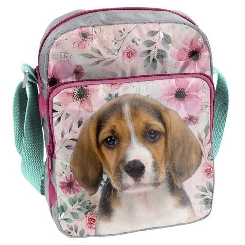 Mała torebka na ramię Dog (18-108PS)