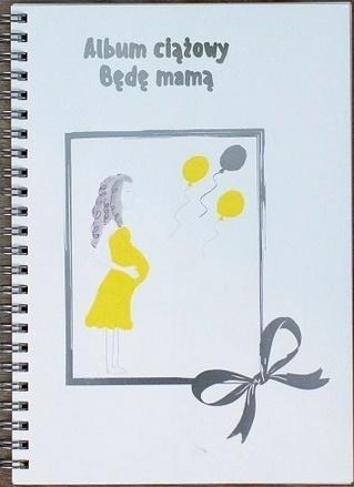 Album ciążowy Będę mamą praca zbiorowa