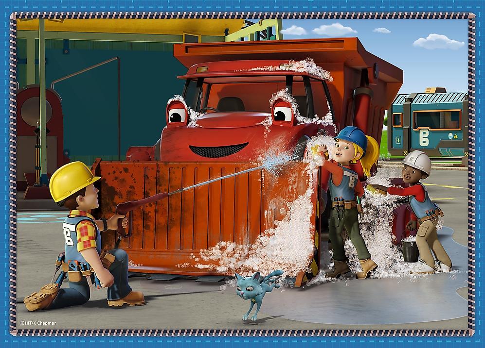 Puzzle 4w1: Bob Budowniczy. Pracowity dzień (34350)