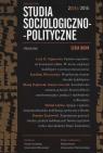 Studia Socjologiczno - polityczne 2(04)/2015