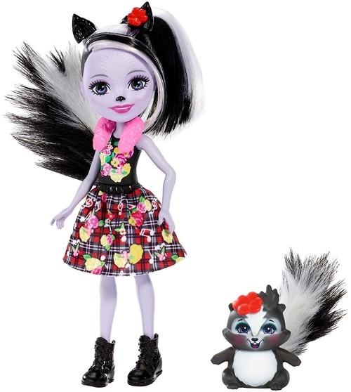 Enchantimals: Lalka Sage Skunk + skunks Caper (DVH87/FXM72)