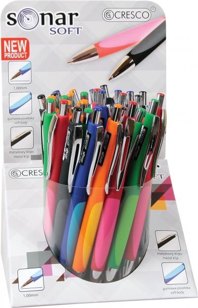 Długopis sonar soft (250021) mix