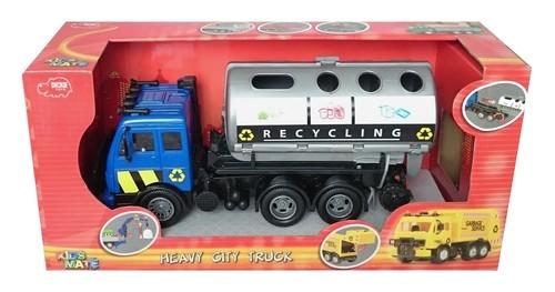Auto śmieciarka city cleaner recykling