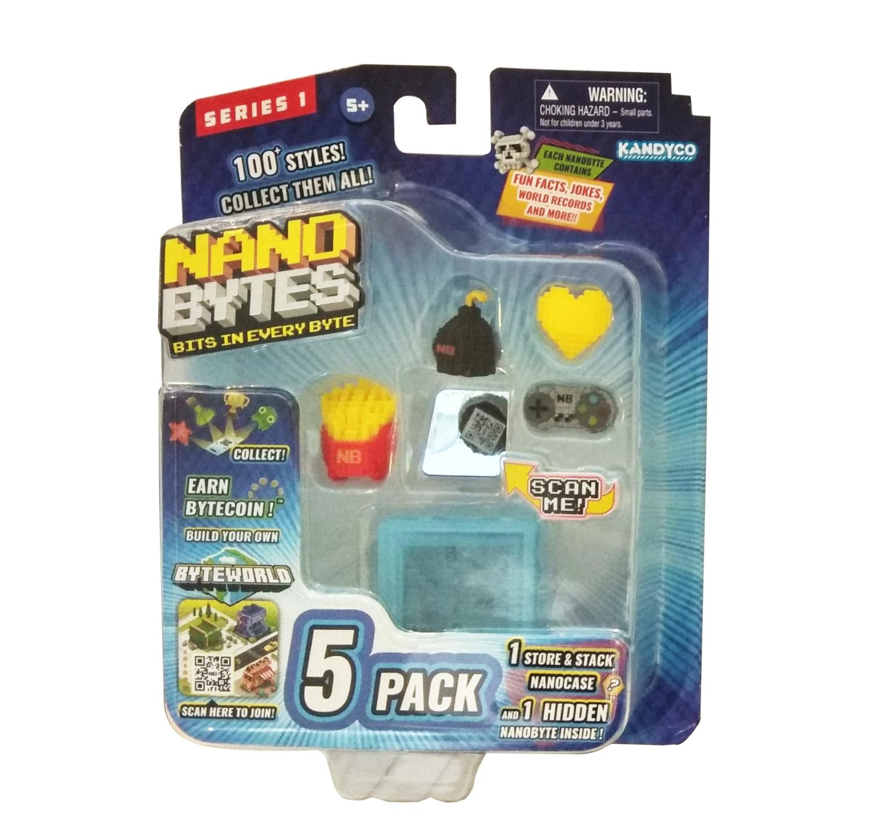 NanoBytes - Zestaw edukacyjny #2, 5 elementów (009-8014)