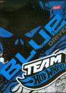 Zeszyt A5 Team Hot Wheels w linie 60 kartek niebieski