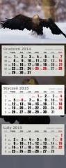 Kalendarz Trójdzielny Duży 2015 orzeł