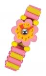 Zegarki Księżniczki różowy kwiatek