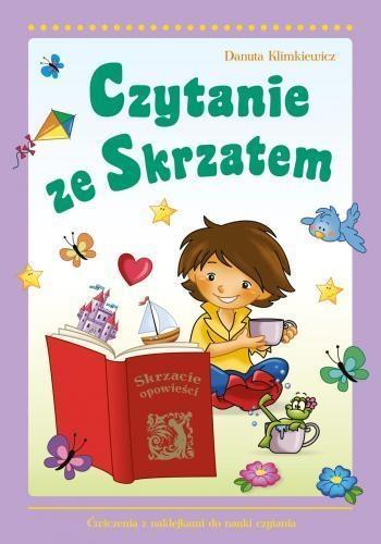 Czytanie ze Skrzatem (Uszkodzona okładka) Klimkiewicz Danuta