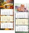 Kalendarz 2013 Trójdzielny z Płaską Główką SB8 SB8
