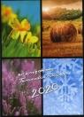 Kalendarz 2020 z ks Twardowskim 4 pory roku Grzybowski Marian