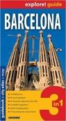 Barcelona - guidebook + cityatlas + map 3 in 1 .