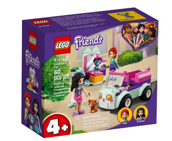 Lego Friends: Samochód do pielęgnacji kotów (41439) (Uszkodzone opakowanie)