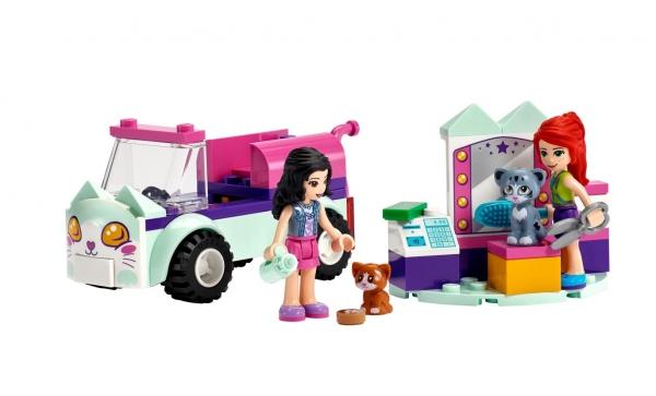 Lego Friends: Samochód do pielęgnacji kotów (41439)