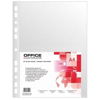 Koszulka na dokumenty Office A4 krystaliczna 100 sztuk (21142415-90)